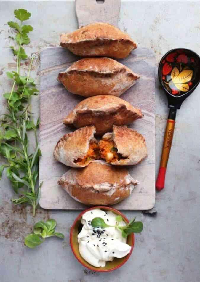 Vegan Russian food recipe