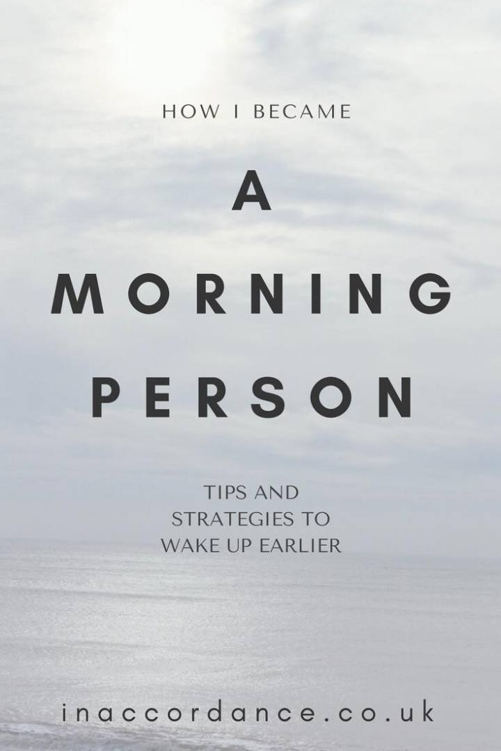 Want to know how to become a morning person, and the benefits of waking up earlier? Here's how I did it, and a few tips and strategies anyone can implement