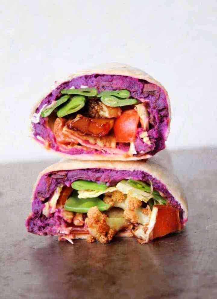 Three Healthy And Vegan Wrap Filling Ideas