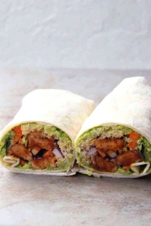 How to make a vegan wrap