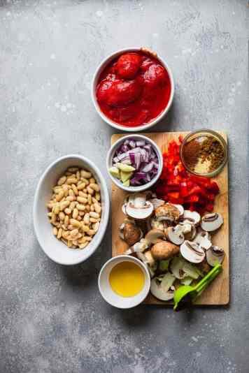 Skillet potatoes ingredients