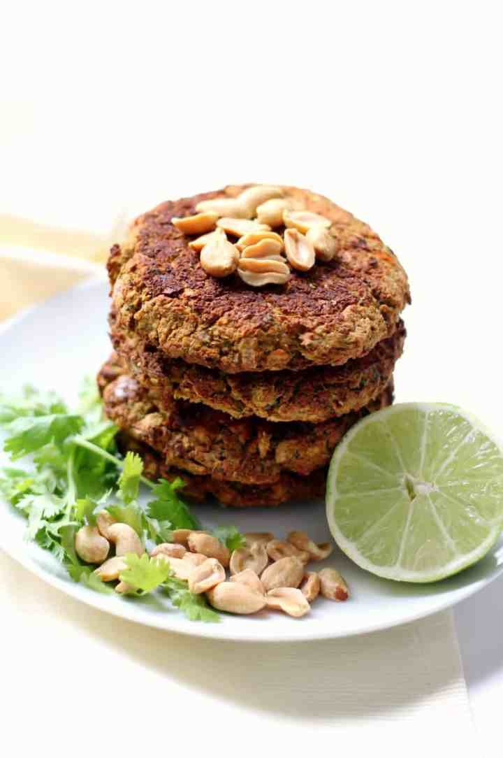 Pad Thai Broccoli Burgers