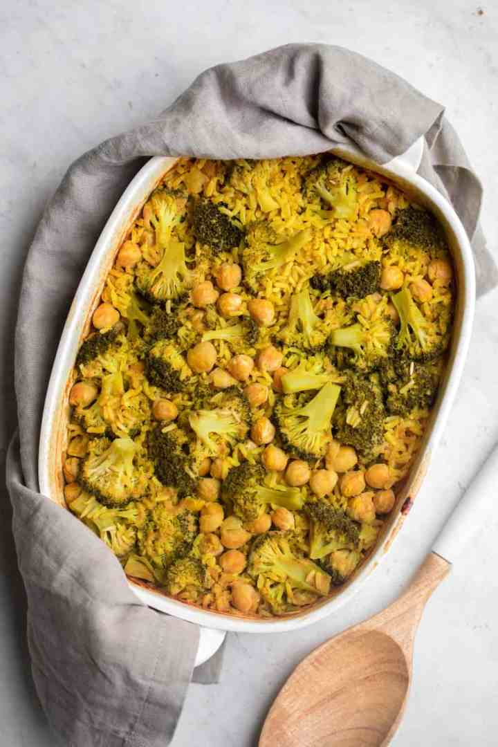 Cheesy Broccoli Rice Casserole Dump And Bake