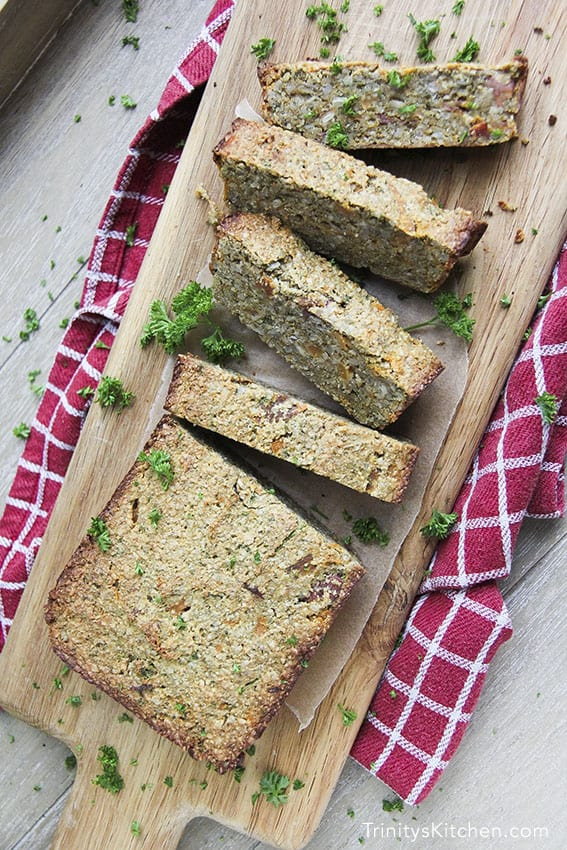 Sweet Potato Seed Loaf Roast Trinity's Conscious Kitchen