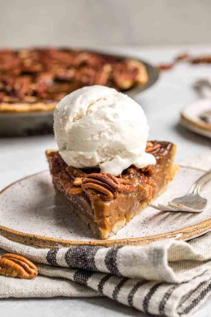 Vegan pecan pie From My Bowl