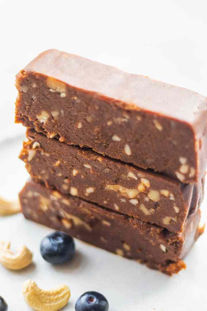 Four ingredient vegan fudge