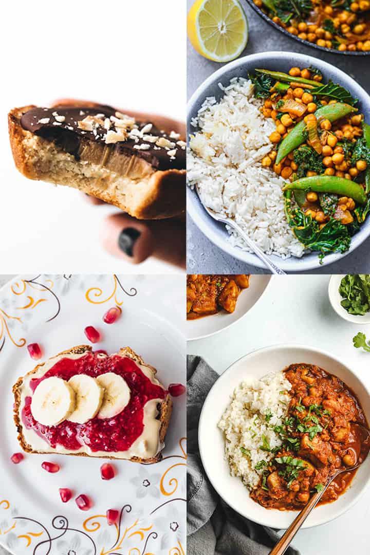 Recipes for veganuary
