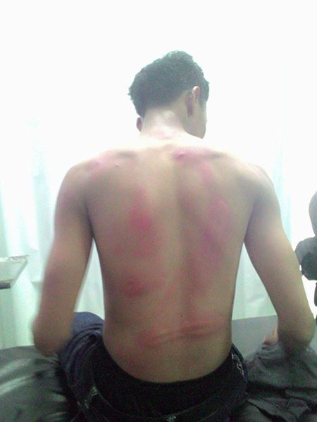 Police Apparatuses Brutality in Karawang 02