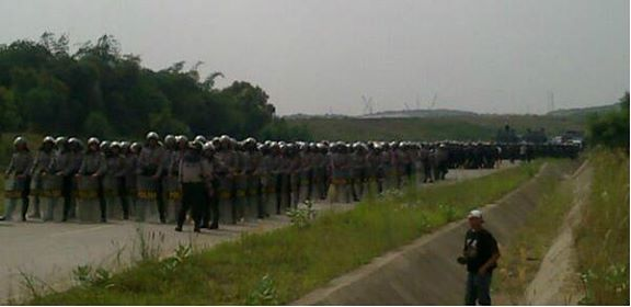 Police Apparatuses in Karawang 01