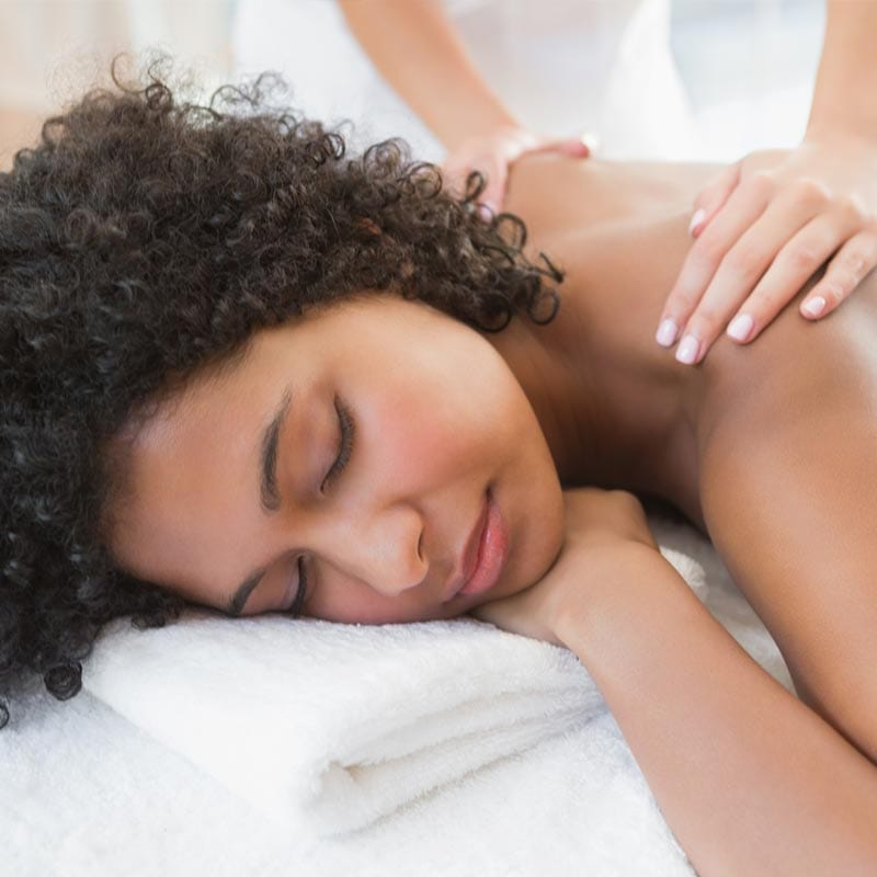 the Bride's Day earthsavers uplift massage