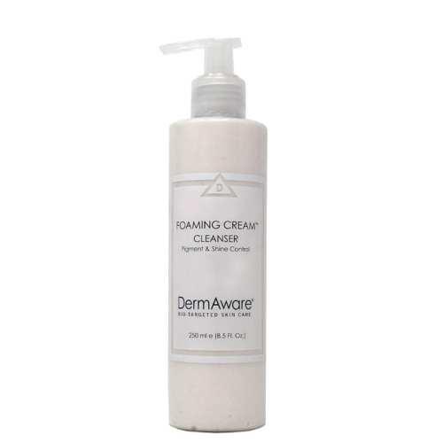 foaming cream cleanser dermaware