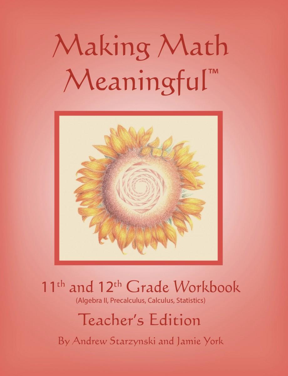 hight resolution of Making Math Meaningful: An 11th \u0026 12th Grade Workbook