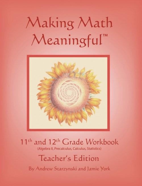 small resolution of Making Math Meaningful: An 11th \u0026 12th Grade Workbook