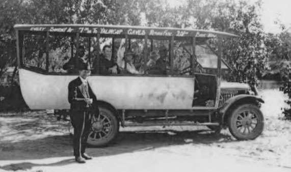 old motor coach