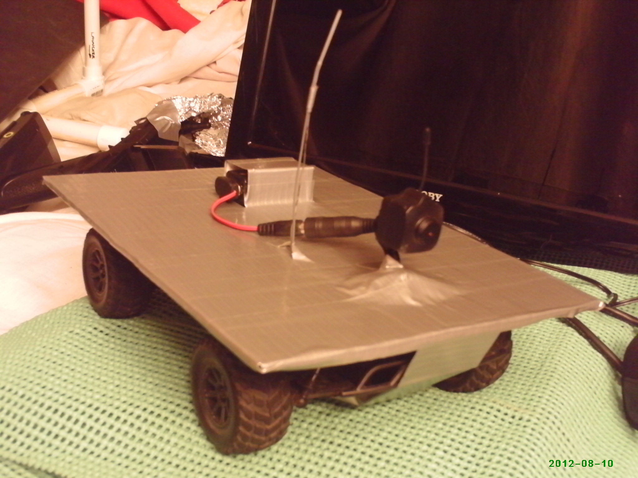 Tele Operation Rover Challenge # Table Tele Simple