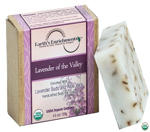 Bar Soap (USDA Organic) - Lavender of the Valley