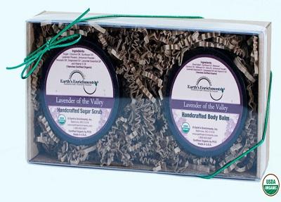 Lavender of the Valley Organic Sugar Scrub and Body Balm