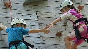 Climbing wall help