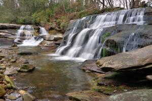 Waterfalls along NC 215