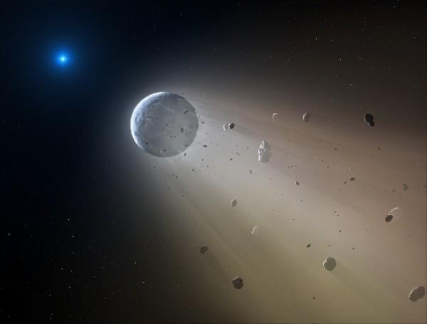 Astronomers find dead star destroy a planet   Science Wire   EarthSky