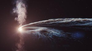 Cosmic air was created in a cataclysmic event  The universe