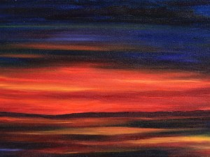 Astral Harvest Sunset