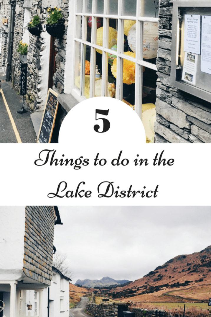 Thinking of visiting the Lake District England? Then read my 5 things to do! The beautiful area is full of cottages, breathtaking walks, lakes such as Windermere and charming towns such as Grasmere and Ambleside. Sounds perfect right?