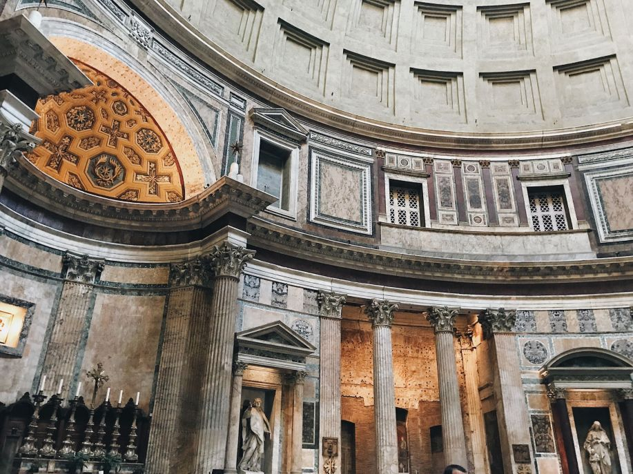 Places to go in rome Pantheon