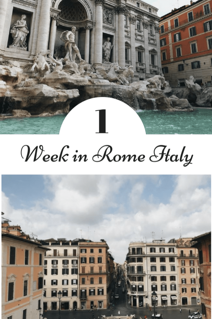 Looking for the best things to do in Rome Italy? This post containing a one-week itinerary has all the answers! Including tips on the best Rome attractions (such as the Vatican and Colosseum). #Travel #Rome #Italy #tips