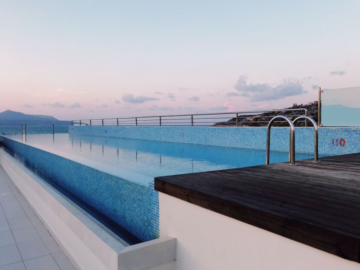Almyrida Hotel, Almyrida Residence roof top pool