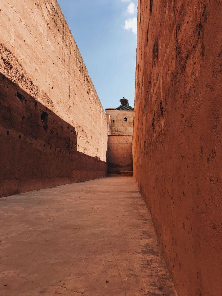 one week in Morocco Badi Palace