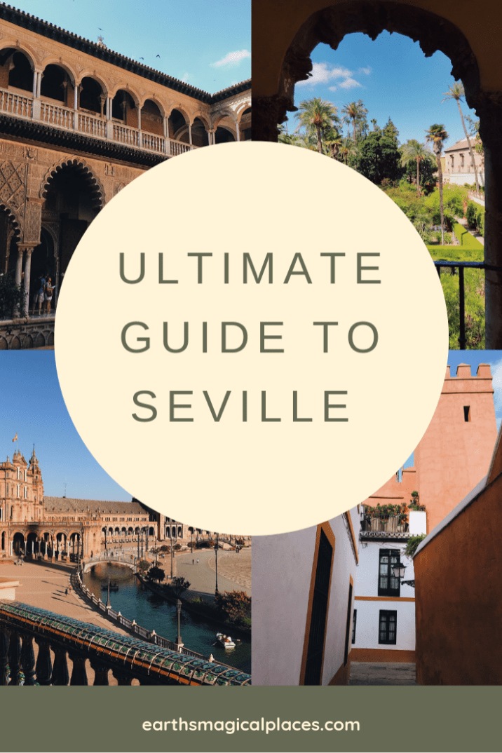 Looking for things to do in Seville Spain? Then this ultimate guide is for you. With hotel, shopping and restaurants tips, as well as important information on Seville attractions such as the stunning Alcazar, this post has it all! #Travel #Seville #Spain