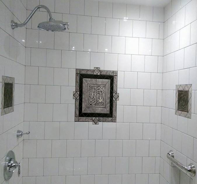 6x6 Bathroom Tile Image Of Bathroom And Closet