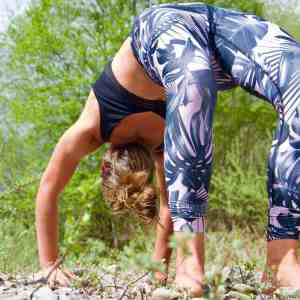 Online yoga lessons nature streaming beginner