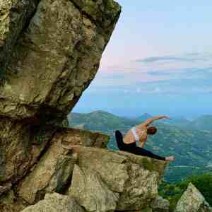 Yoga classes online nature outdoor