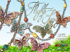 EarthStones Flight Of Fancy Necklace