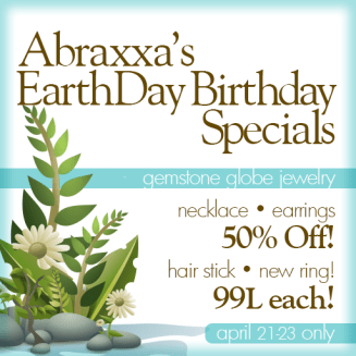 abraxxa earthday birthday specials 2017