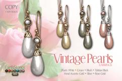 Vintage Pearls Earrings