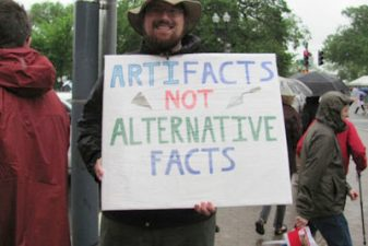 arfifacts 400x267 A New Science Problem—The Solution Is to March