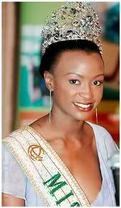 Winfred Omwakwe, Miss Earth 2002