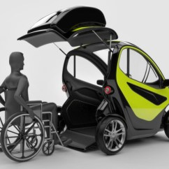 Wheelchair Car Armless Desk Chair On Casters Electric Idea Very Friendly Earthtechling Image Via Absolute Design