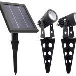 Garden Lighting Equipment Mega Spot Light 5 Lumens Super Bright Solar Powered Smart Solar Kisetsu System Co Jp