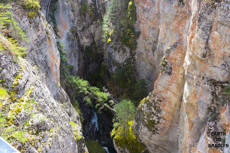 Maligne Canyon's Limestone Rocks
