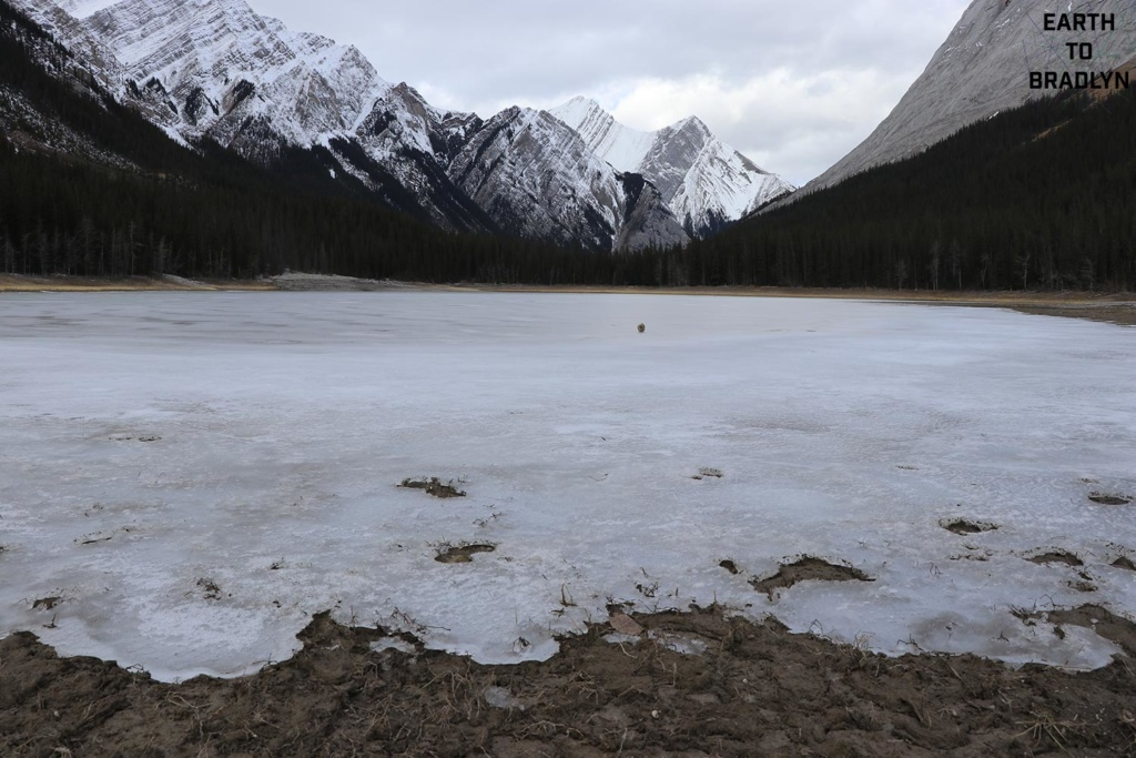 Summit Lakes Ice. This gives this place a super eerie feeling!