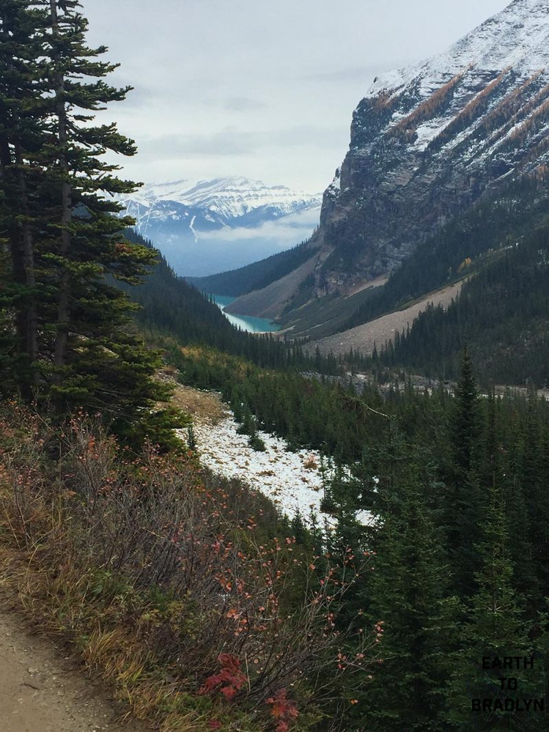 A different view of Lake Louise!
