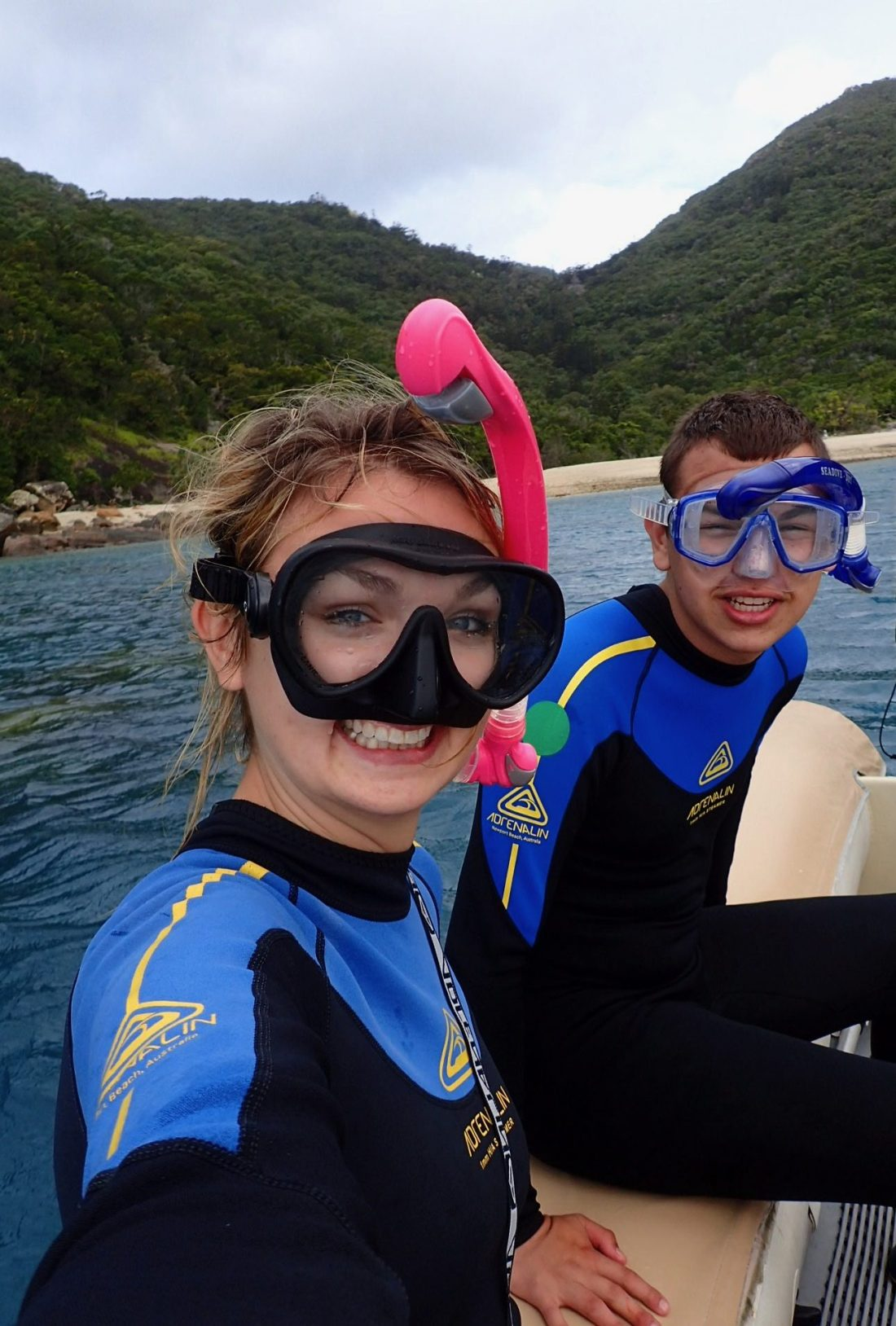 Snorkelling in the Whitsundays!