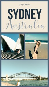 3 Days in Sydney Australia. Australia guide!