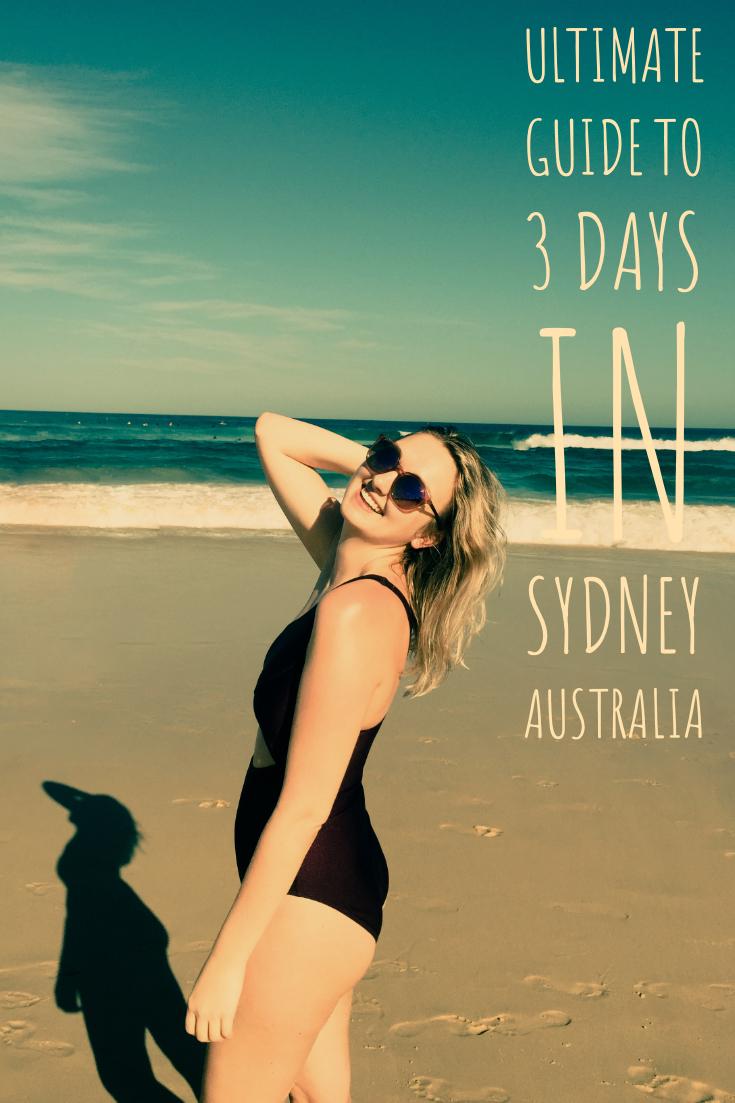 3 Days in Sydney, Australia. Ultimate Sydney destination guide. Australia trip guide!