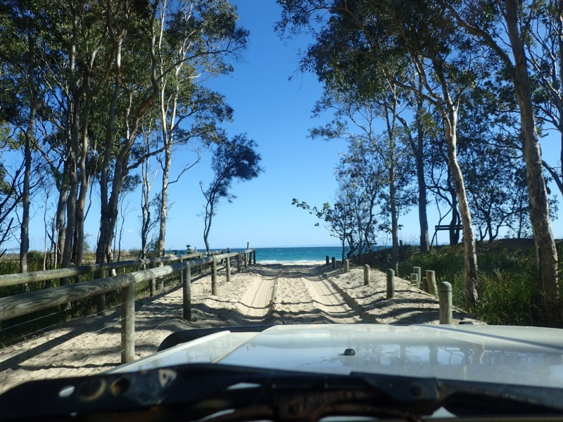 Driving on Sand Roads in Australia