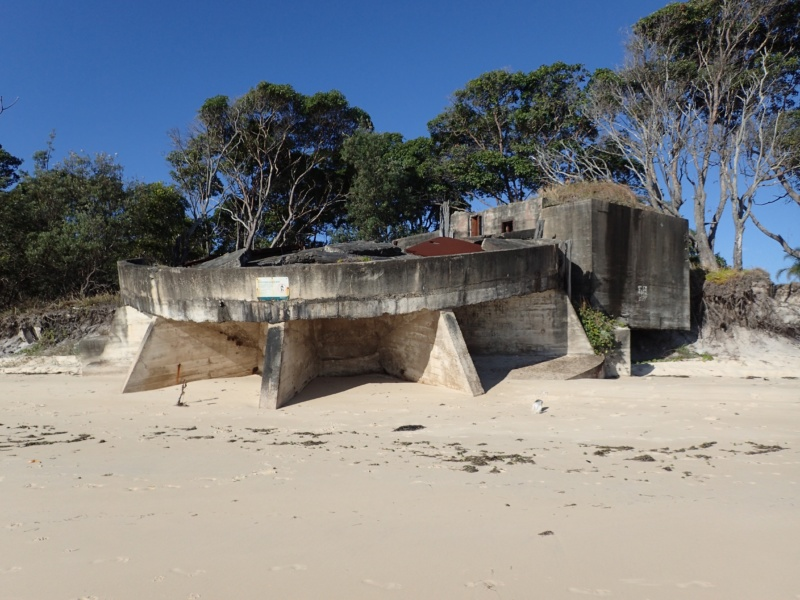 WW2 Base on Moreton Island